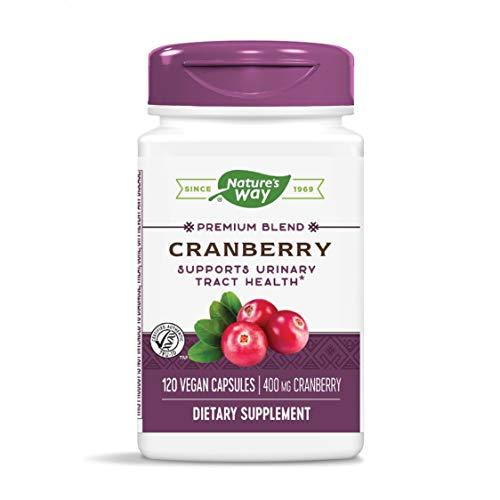 Nature's Way Premium Potency Standardized Cranberry 90% Fruit Solids, 400 mg per serving, 120 VCaps