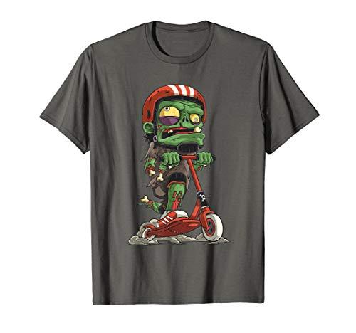 Zombie Scooter Stunt Zubehör Undead Scooter T-Shirt