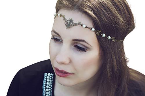 Haarband, Tiara, Stirnband - Lunara
