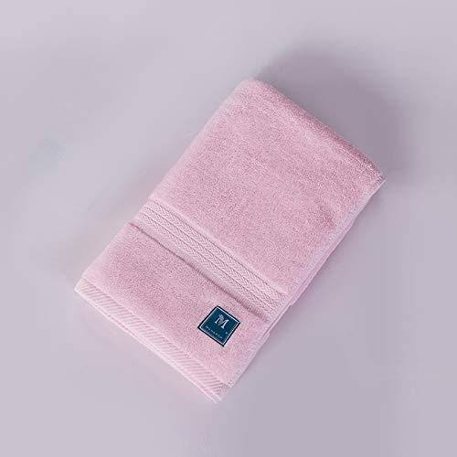 Tcaijing badhanddoek hoge kwaliteit 100% lang nietje katoen (140 * 70 cm) super zachte super absorberende 5 sterren hotel kwaliteit 5 kleuren optioneel voor familie badkamer zwembad Fitness roze