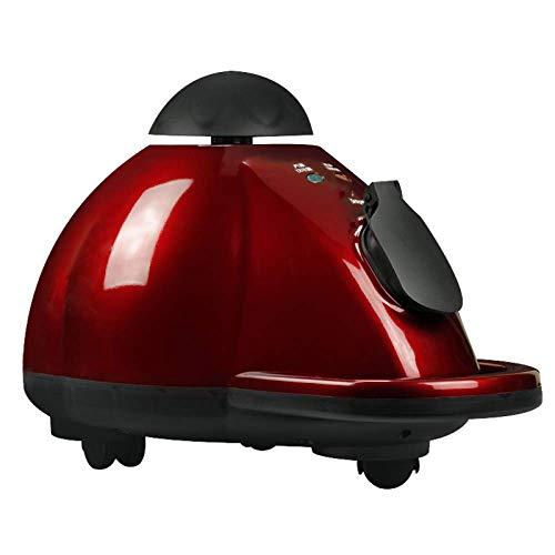 Poru Jet Control Total Start-stoomreiniger, multifunctionele stoomreiniger met meerdere opzetstukken, perfect voor vloeren, tapijten, kleding, rood Netto