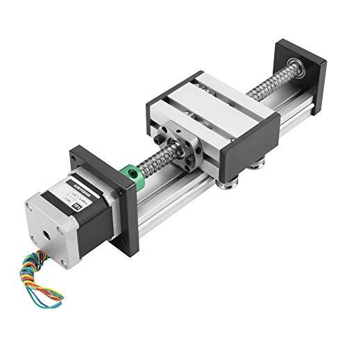 Kugelgewinde Linear Slide - 1204 Kugelgewinde Linear Slide Stroke Lange Bühne Actuator Qualitäts-Material Verwendung for Schrittmotor 100 mm Hub High Precision