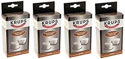 KRUPS 8000000302 Not Available F47200 Duo Filters Water Filtration System Coffee Makers Compatible with FMF/FME / 629/619 /180/176 / 466 and 467, 2-Pack