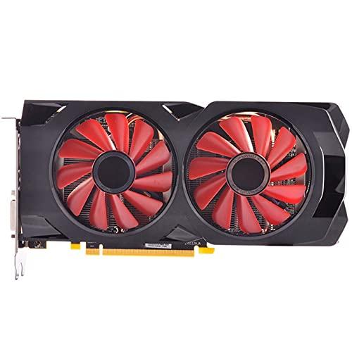 MPGIO Tarjetas gráficas Fit for XFX RX 480 4GB Tarjetas de Video RX480 256Bit GDDR5 para Tarjetas VGA AMD RX 400 Series RX480-4GB HDMI 7000MH