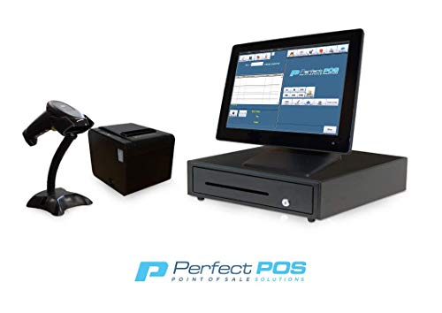 Retail Point of Sale System - Includes Touchscreen PC, POS Software (Retail...