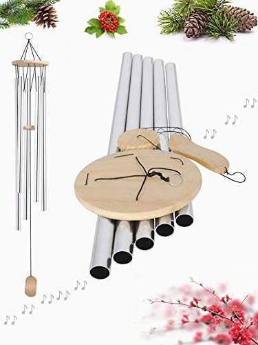 SoB 57' Big Extra Large Wind Chimes Outdoor Deep Tone Bass Tuned Resonant Sound Like Church Bell, Windchimes Unique Outdoor Clearance Memorial Sympathy Outdoor Decoration for Garden Patio Porch Home