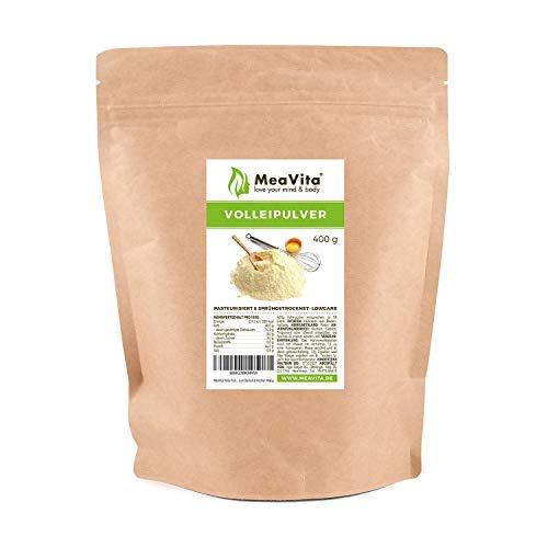 MeaVita Vollei Pulver, 400g Volleipulver im Beutel, reich an Protein, ideal zum Backen & Kochen
