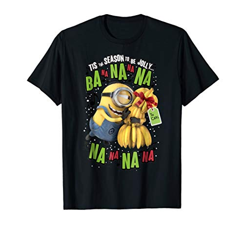 Despicable Me Minion Banana Present Christmas T-Shirt