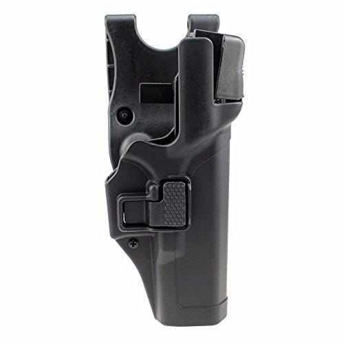 JINJULI Tactical Level 3 Lock Right Hand Waist Belt Pistol...