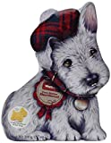 Walkers Shortbread Gebäckdose Wee Scottie Dog Mac, Reliefdose inklusive Shortbread-Gebäck, 200 g