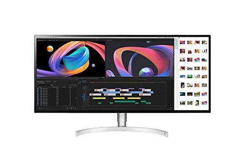 LG 34WK95U Computerbildschirm 86,4 cm (34 Zoll) UltraWide 5K HD LED Flach Matt Silber - Computerbildschirme (86,4 cm (34 Zoll), 5120 x 2160 Pixel, UltraWide 5K HD, LED, 5 ms, Silber)