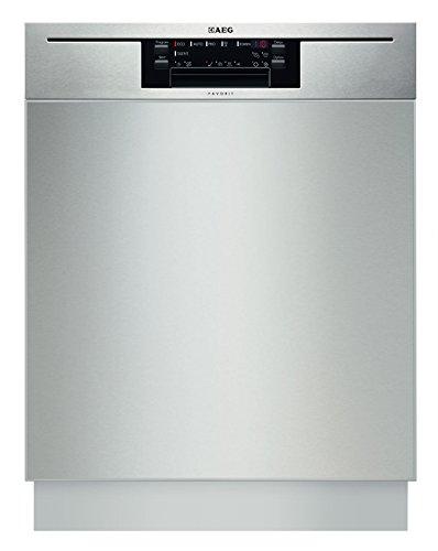 AEG-Electrolux FAVORIT F66702UM0P Unterbaugeschirrspüler/A++ / 270 kWh/Jahr / 15 MGD / 3080 Liter/Jahr/Herausragende Reinigungsergebnisse dank maximaler Wasserreichweite