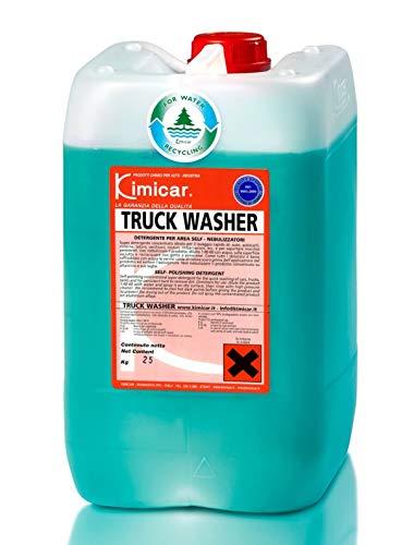 Kimicar Truck Washer - Limpiador Universal con Espuma Activa para Camiones, autobuses y Furgonetas