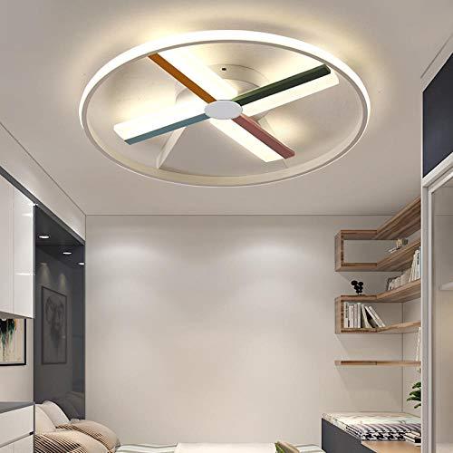 Moderne led-plafondlamp voor kinderkamer, babykamer, rond, jongens, meisjes, verlichting huis