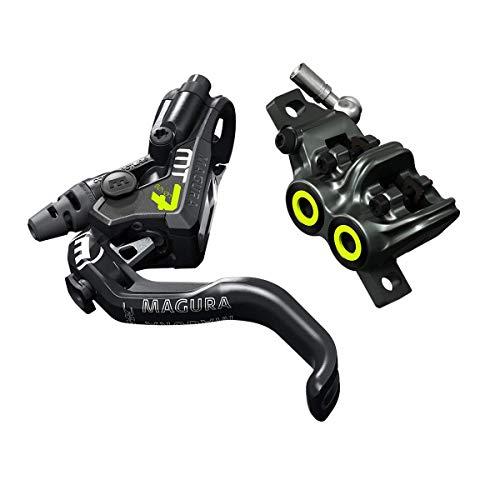 Magura Unisex– Erwachsene MT7 Pro Fahrradbremse, schwarz, 2.200 mm Leitungslänge