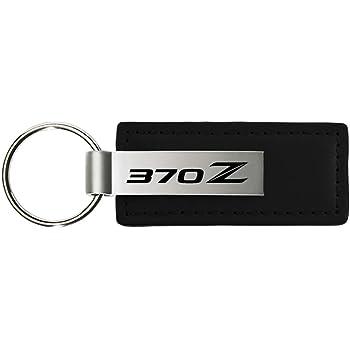 Au-Tomotive Gold Nissan 370Z Black Leather Key INC