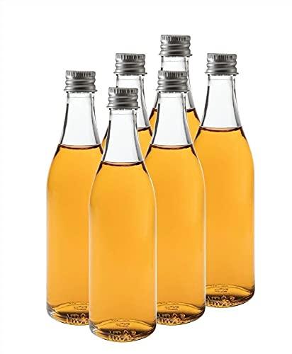 casavetro Bor-Slambo - Botellas de cristal (24, 40, 50 x 50 ml, con tapón de rosca, 24 x 50 ml)