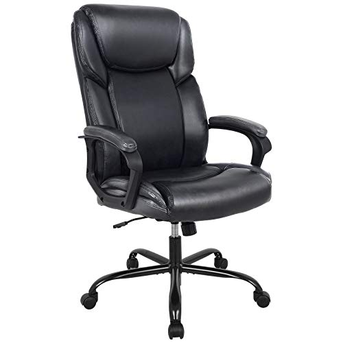 Rimiking Office Chair - Executive Computer Task Desk Chair Black