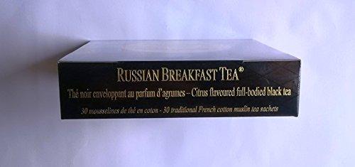 Inconnu Mariage Frères - Russian Breakfast - Boîte de 30 sachets Mousseline de thé