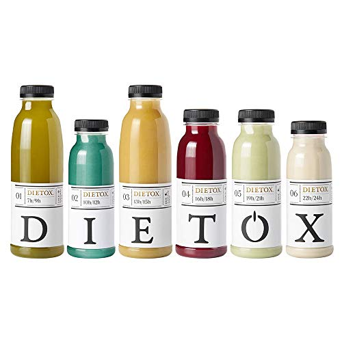 Zumos Detox 1 día - Licuados 100% frescos la auténtica terapia detox