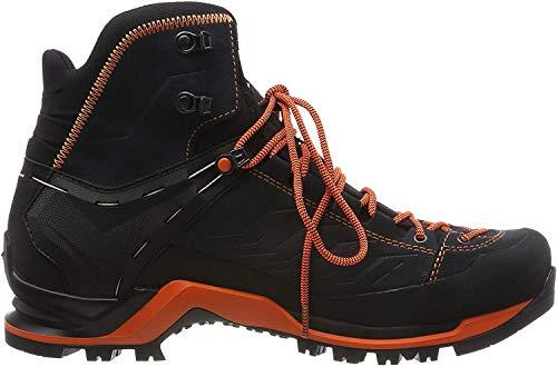 Salewa MS Mountain Trainer Mid Gore-TEX Trekking- & Wanderstiefel, Grau (Asphalt/Fluo Orange 0985), 44 EU