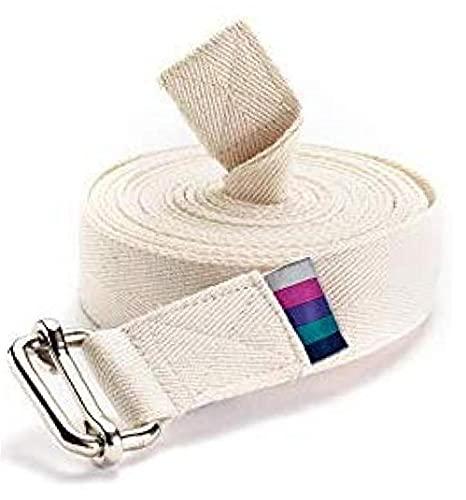 Ruluti Clásico Extralarga Iyengar Yoga Cinturón,