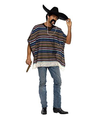 Horror-Shop Poncho Western Costume