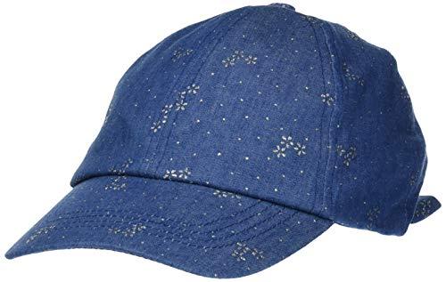 maximo Mädchen Cap Kappe, Blau (Jeans-silberblume 63), (Herstellergröße: 53/55)