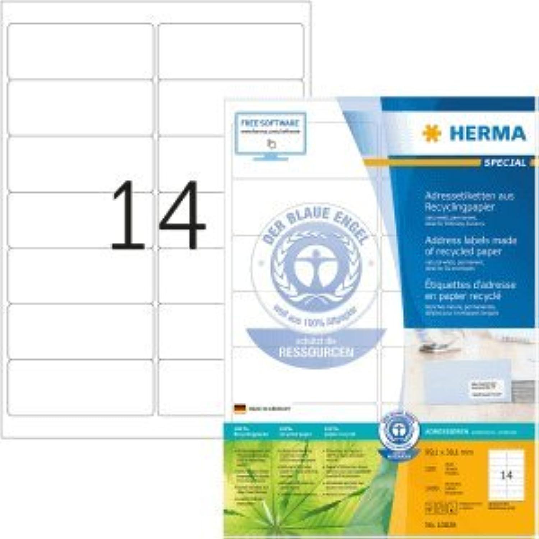 Herma Herma Herma Etiketten 99,1x38,1mm naturweiß RC A4 VE=100 Blatt B00BYA2D14  | Sonderpreis  db3201