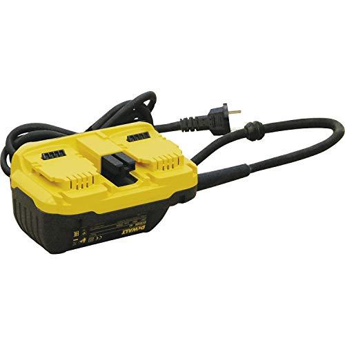 Dewalt DCB500-QS 230V-Netzadapter für 2x54V, 54 V, Schwarz/Gelb, Size