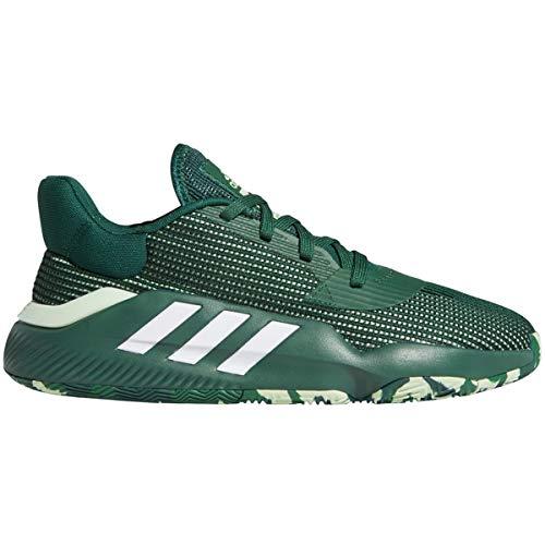 adidas Mens Pro Bounce 2019 Bajo Baloncesto Zapatillas Zapatos Casual - Verde, verde (Verde/Blanco), 47