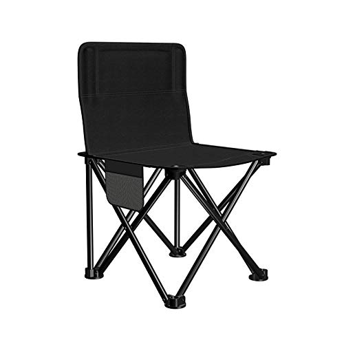 Amosiwallart Outdoor Camping Chair, Cup Holder, Carry Bag, Portable Padded Lawn Chair for Fishing, Hiking, Travelling, Picnic, BBQ