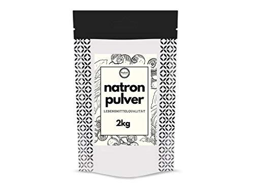Natron Pulver Soda 2kg Natron Lebensmittelqualität backpulver großpackung Soda Bicarbonat Sodium Bicarbonate