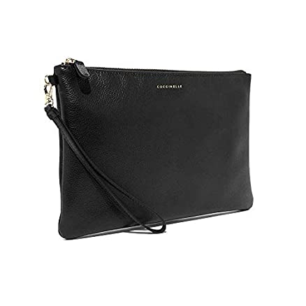 Coccinelle Best Crossbody Soft Clutch, Schwarz