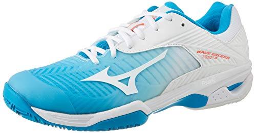 Mizuno Wave Mujin 5, Zapatillas de Trail Running Mujer, Black (Black/Glacier Gray/Hot Coral 31), 38 EU