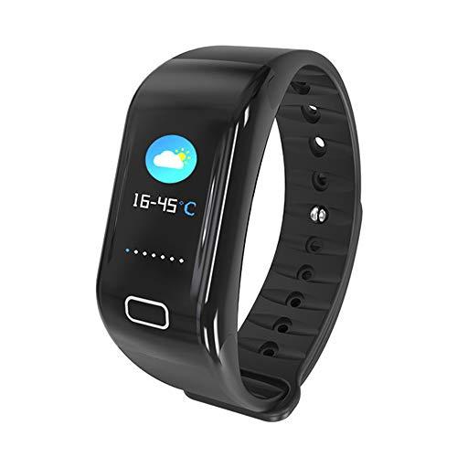 Mars Jun Reloj Inteligente, Smartwatch Impermeable IP68,Pulsera de Actividad Inteligente Pantalla a Color,Rastreador de Actividad GPS/Monitor de frecuencia Cardiaca Fitness Podómetro Android i