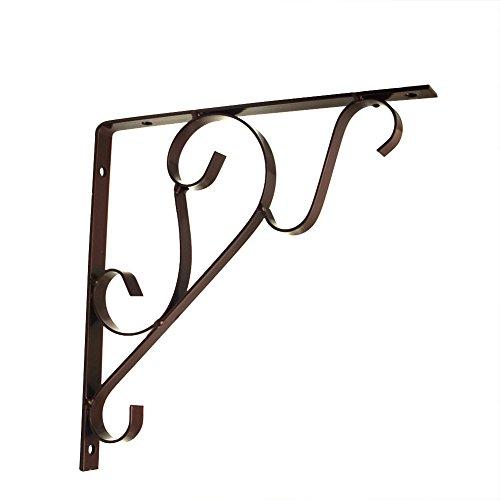 2 en acier résistant 20,3 cm Comptoir étagère support Supports Corbel (Lot) L bronze