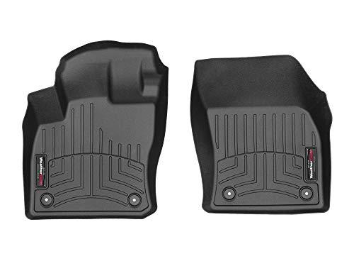 WeatherTech Passgenaue Fußmatten gummimatten passend für: Volkswagen Golf Sportsvan 2014-19|Schwarz|1. Reihe FloorLiner