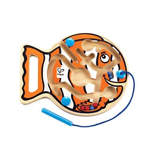 Hape E1700 - Dicker Fisch - Labyrinth Puzzles