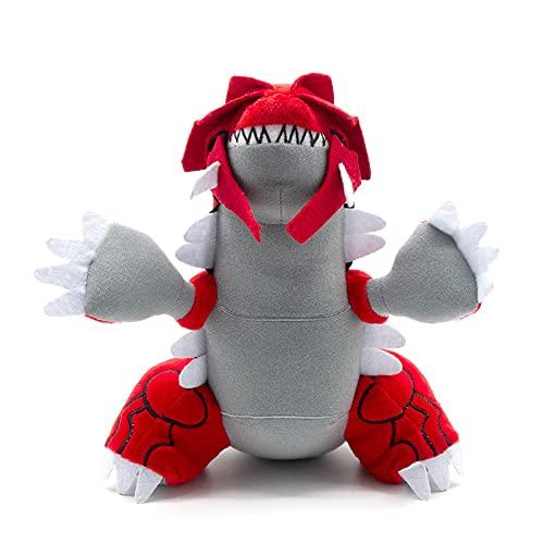 PEDEIECL Groudon Soft Plush Cartoon Stuffed Animal PP Cotton Doll Toys for Children - 30cm