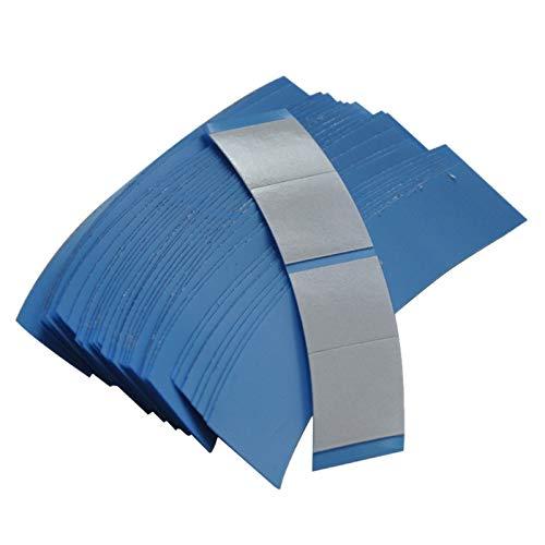 WOVELOT 36Pcs / Lot Adhésif Double Face Bleu de Système de Fixation Superbe de Système de Cheveux de Bande pour L'Extension de Bande/Perruque/Perruque de Dentelle