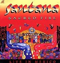 Sacred Fire - Santana Live In Mexico Laserdisc