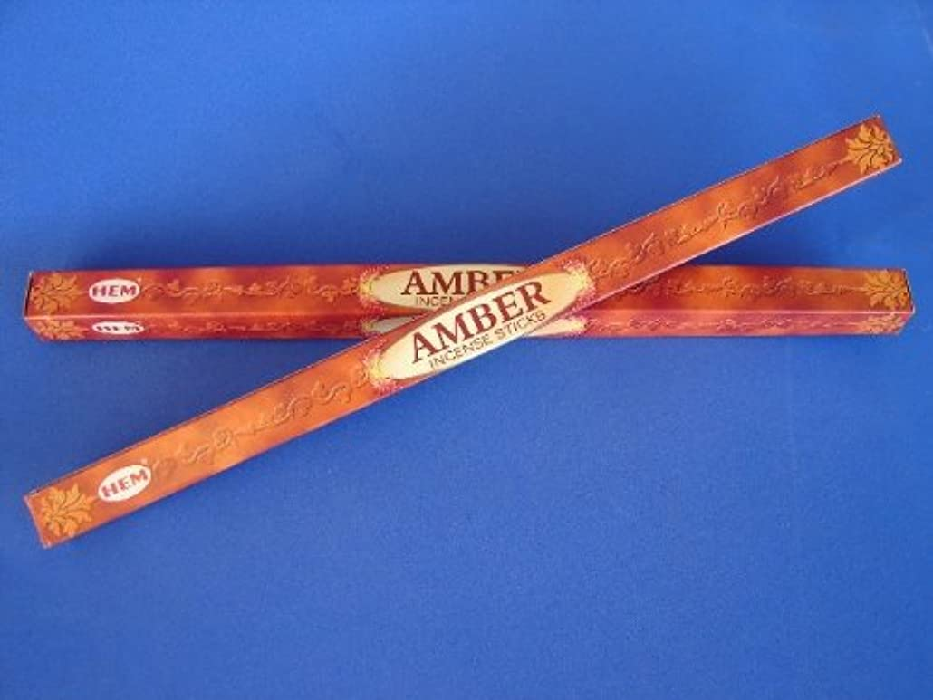 4 Boxes of Amber Incense Sticks