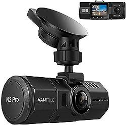 commercial Vantrue N2 Pro Uber Dual 1080P Dash Cam, 2.5K 1440P Dash Cam, Crash Front and Inside Dashboard… dash cams for uber lyft drivers