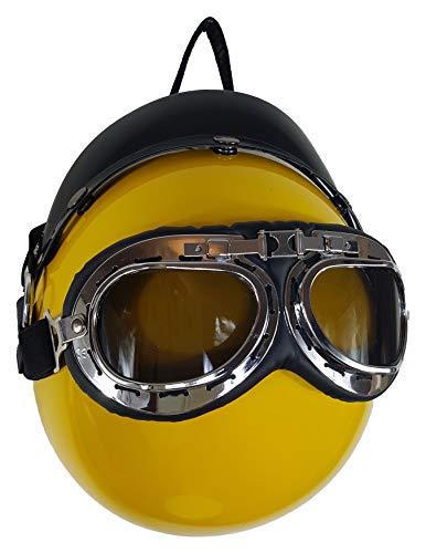 Einkaufszauber Designer Handtasche Motorradhelm Gelb