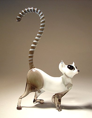 Glass Lemur Figurine