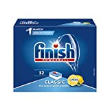 Finish Power Detergente 32 Tabs Lemon, 595 gr (Salute e Bellezza)