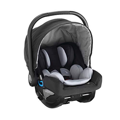 Baby Jogger City GO i-Size Kinderautositz, von der Geburt bis 18 Monate/13 kg, schwarz und grau