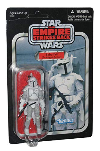 Star Wars Vintage Collection Boba Fett Prototype Armor Mail Away Exclusive Figure image