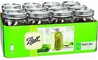 BALL メイソンジャー 32oz Mason jar ワイドマウス 密閉瓶 保存瓶 12点